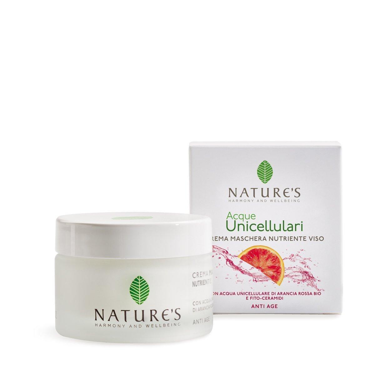 Crema Maschera Nutriente Viso Acque Unicellulari 50 ml