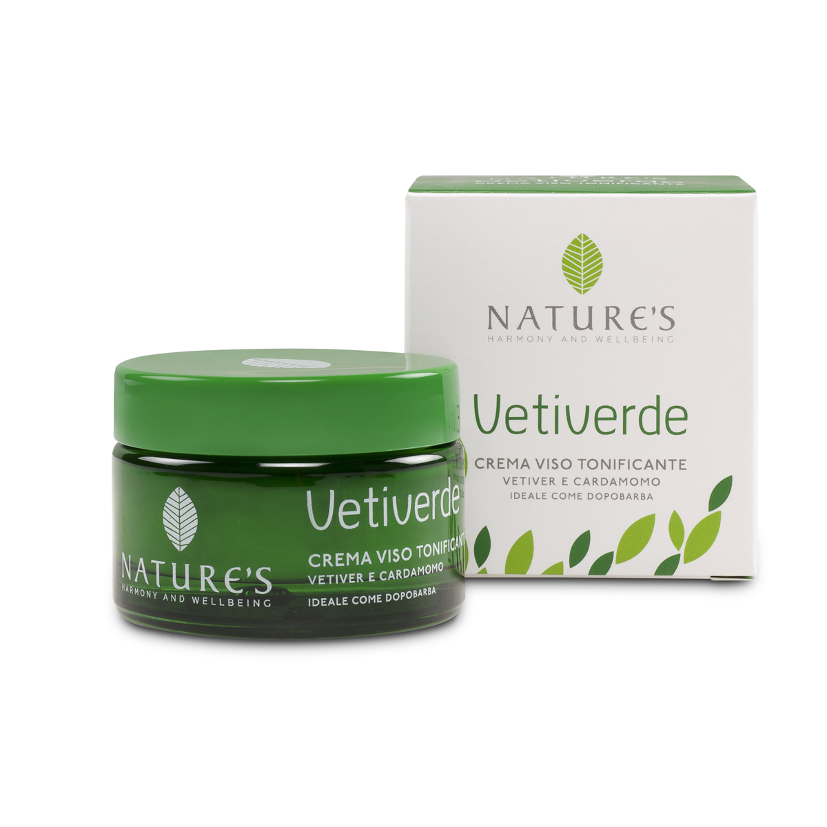 Crema Viso Tonificante Vetiverde 50 ml