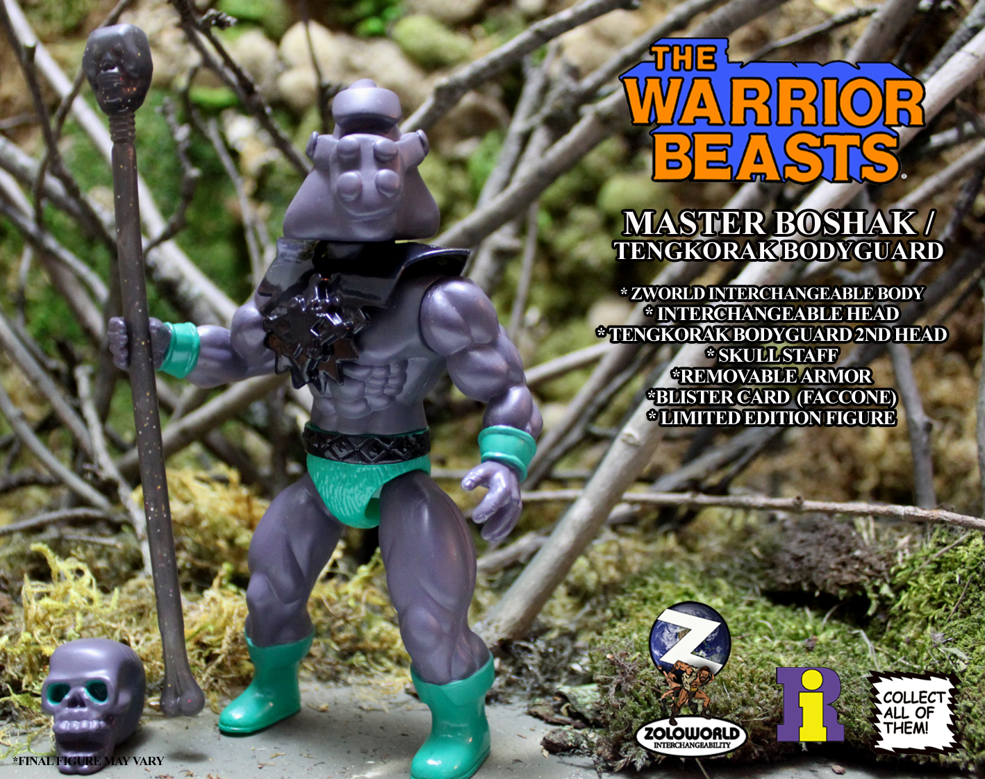 The Warrior Beasts: MASTER BOSHAK / TENGKORAK BODYGUARD by Zoloworld