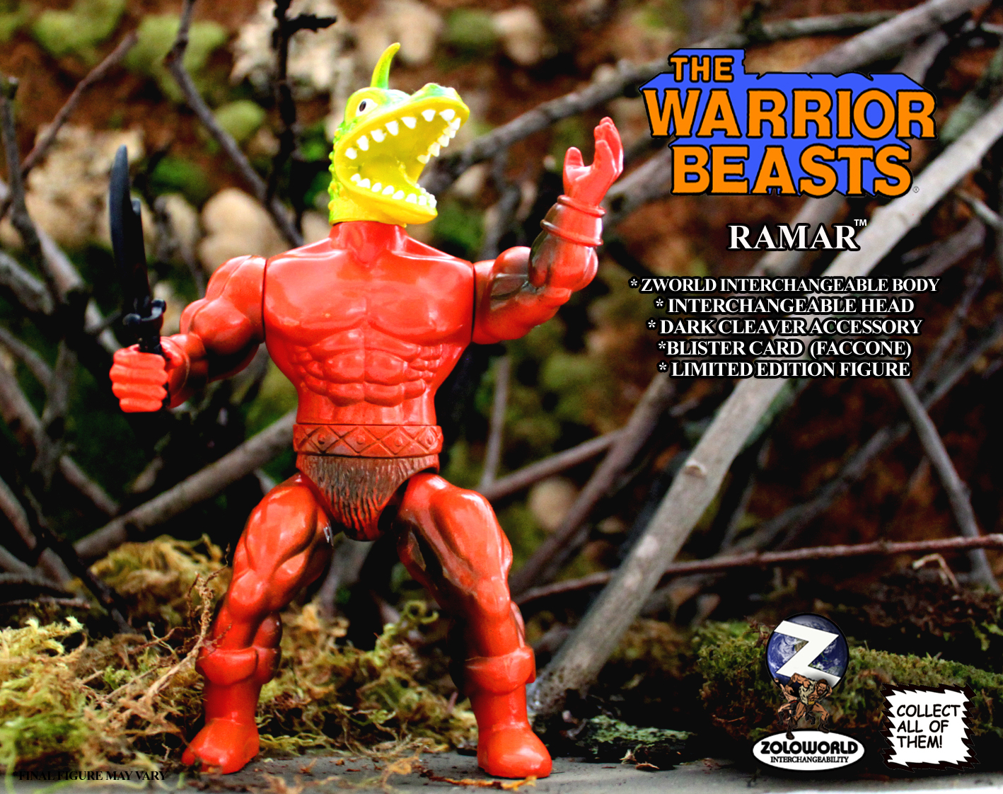 The Warrior Beasts: RAMAR by Zoloworld