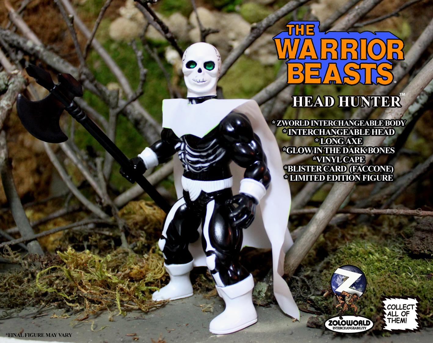 The Warrior Beasts: HEAD HUNTER by Zoloworld