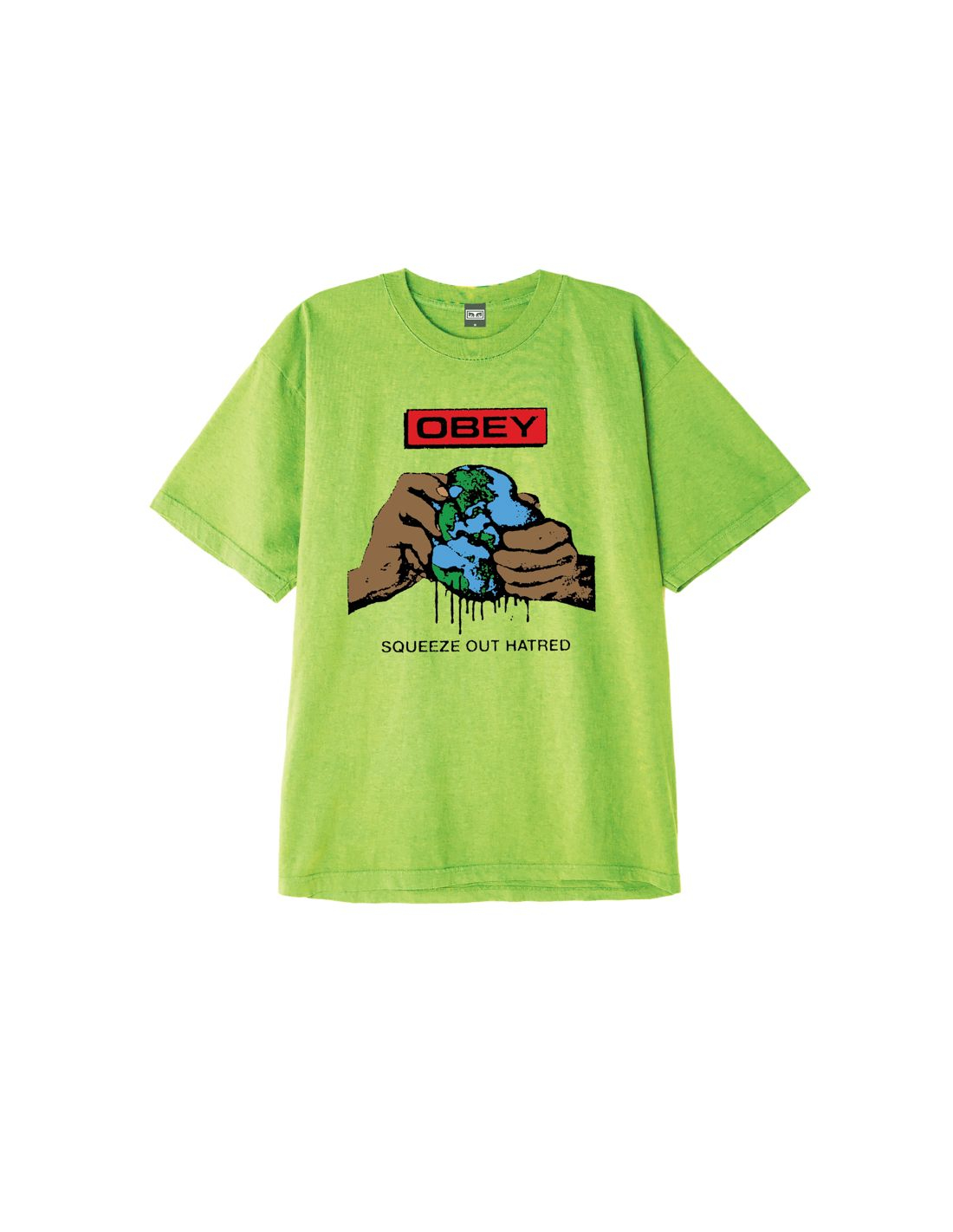 T-Shirt Obey Squeeze Out
