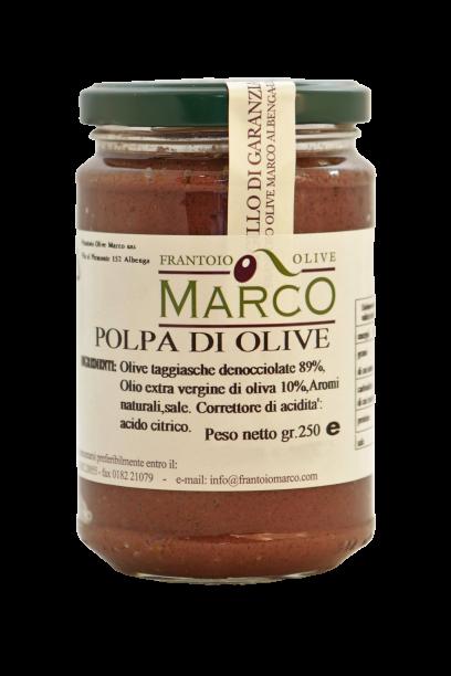 Polpa di olive taggiasche 250 g
