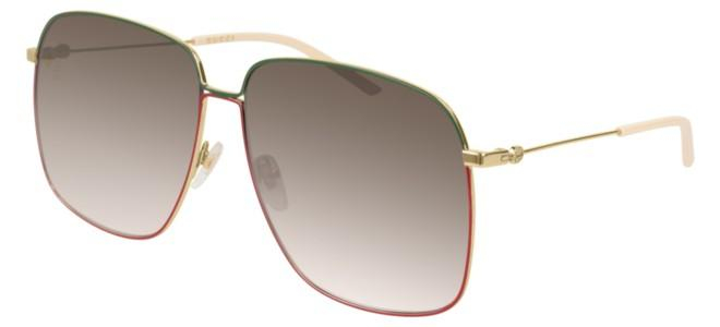 Gucci - Occhiale da Sole Donna, Gold/Brown Shaded  GG0394S  003  C61