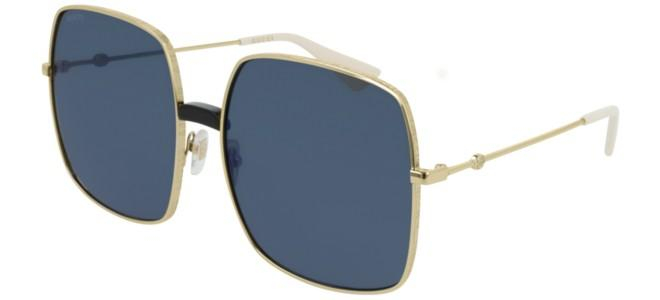 Gucci - Occhiale da Sole Donna, Gold/Blue Shaded  GG0414S  001  C60