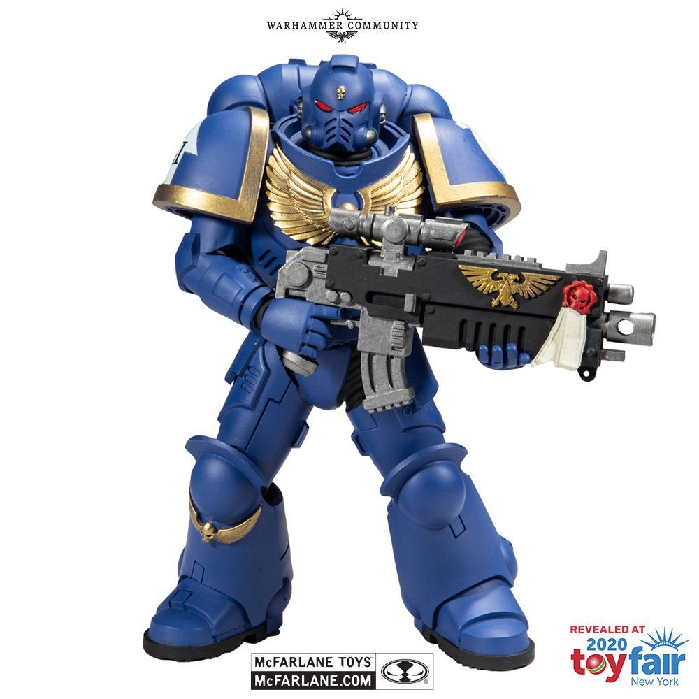 Action Figure: Warhammer 40k SPACE MARINE by McFarlane Toys