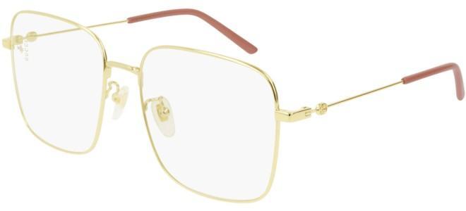 Gucci - Occhiale da Vista Donna, Gold/Pink  GG0445O  001  C56