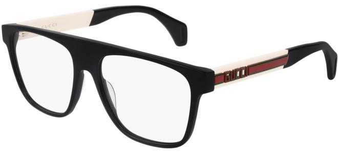 Gucci - Occhiale da Vista Uomo, Black Ivory Transparent  GG0465O  001  C55