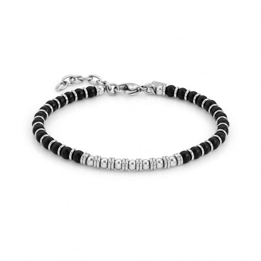 Bracciale Nomination Instinct Onice Nero Satinato