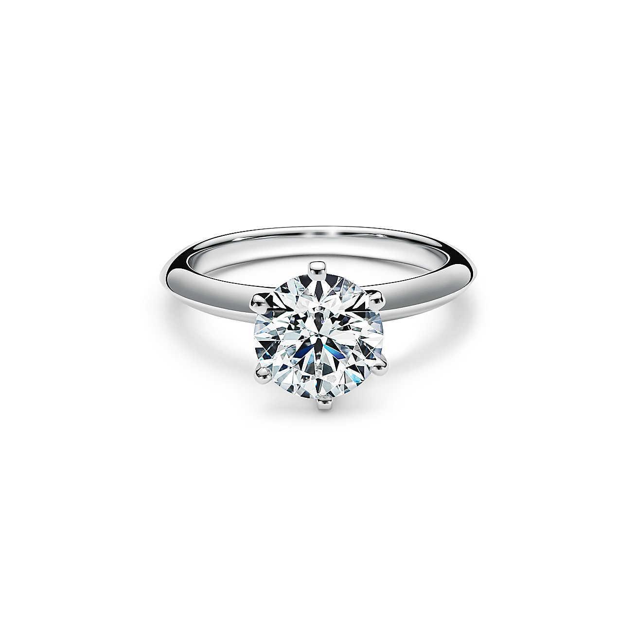 Anello di fidanzamento in Oro Bianco e Brillante da 2 carati F puro certificato GIA - Maisano Gioielli