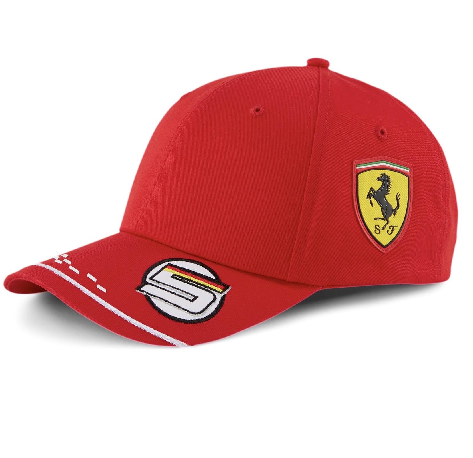 Scuderia Ferrari Vettel Replica Cap F1 2020