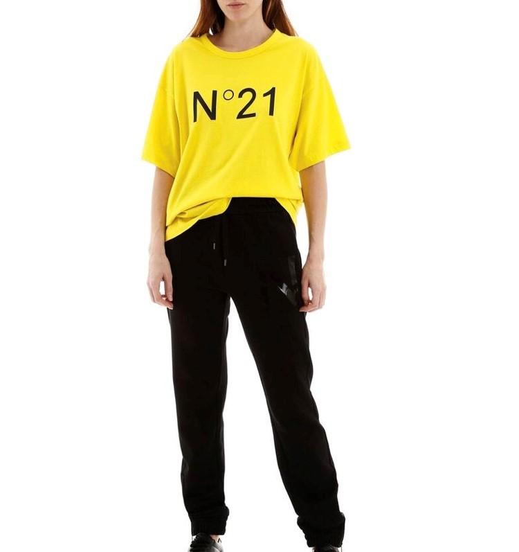 T-SHIRT GIALLA N21