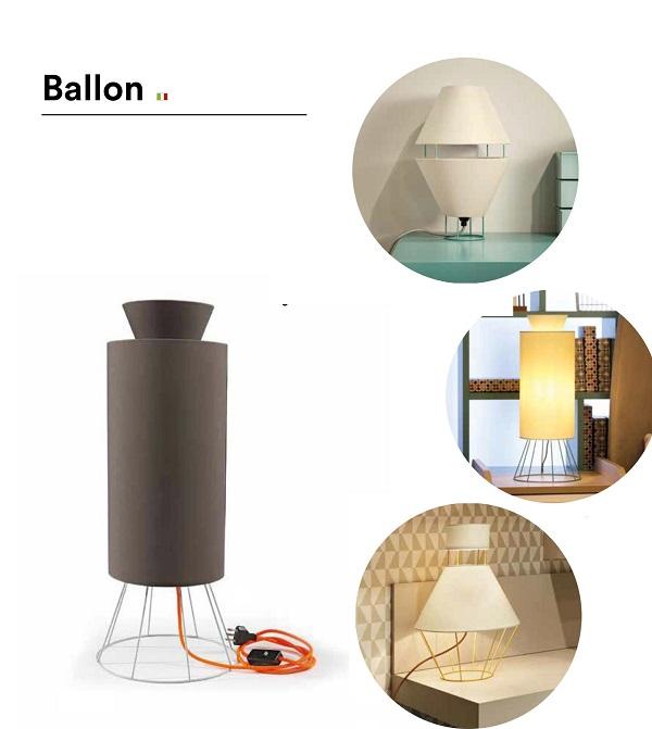 LAMPADA SERIE BALLON IN METALLO