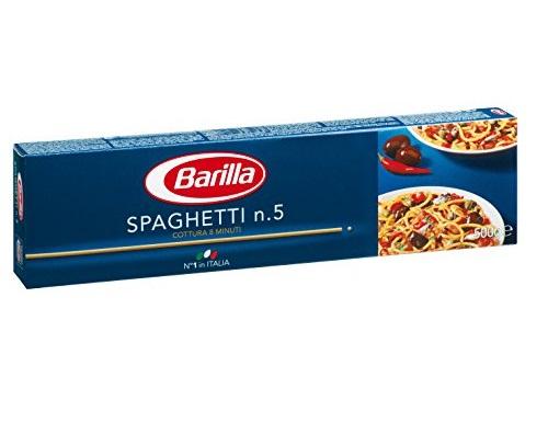 BARILLA SPAGHETTI N°5 GR.500