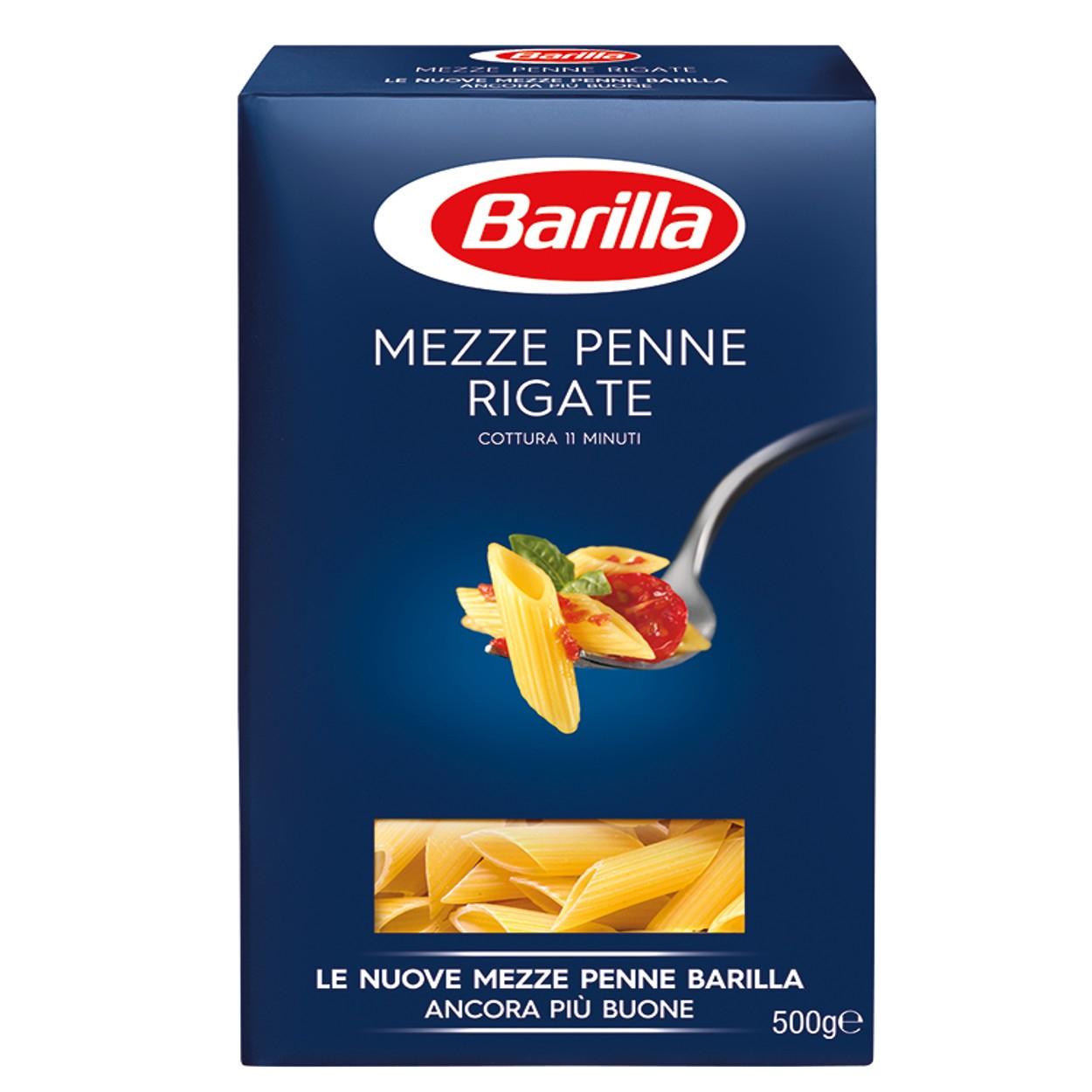 BARILLA MEZZE PENNE RIGATE N°70 - GR.500