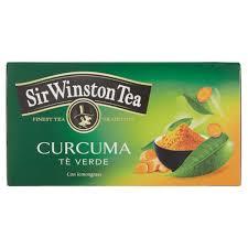 SIR WINSTON TEA - CURCUMA TE' VERDE