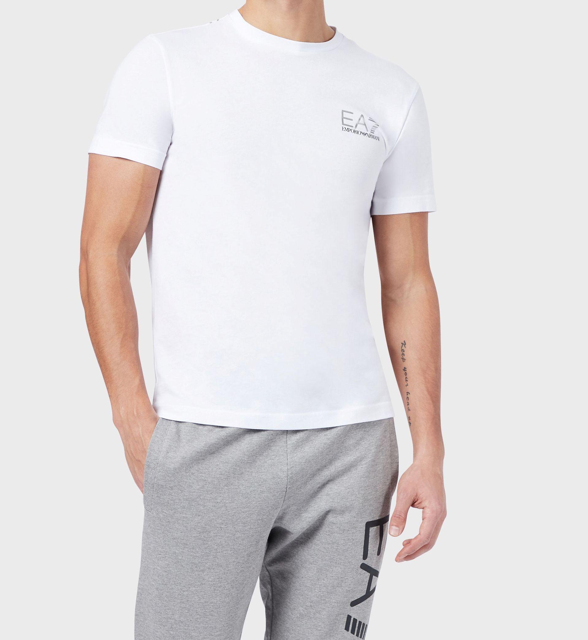 T-shirt uomo ARMANI EA7 con maxi stampa
