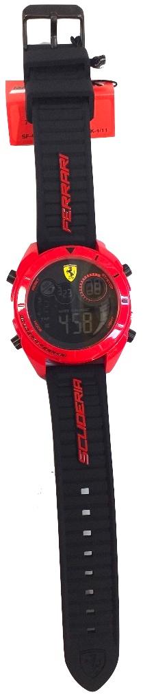 Ferrari Digital Watch Red