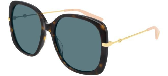 Gucci - Occhiale da Sole Donna, Dark Havana/Blue Shaded  GG0511S  004  C57