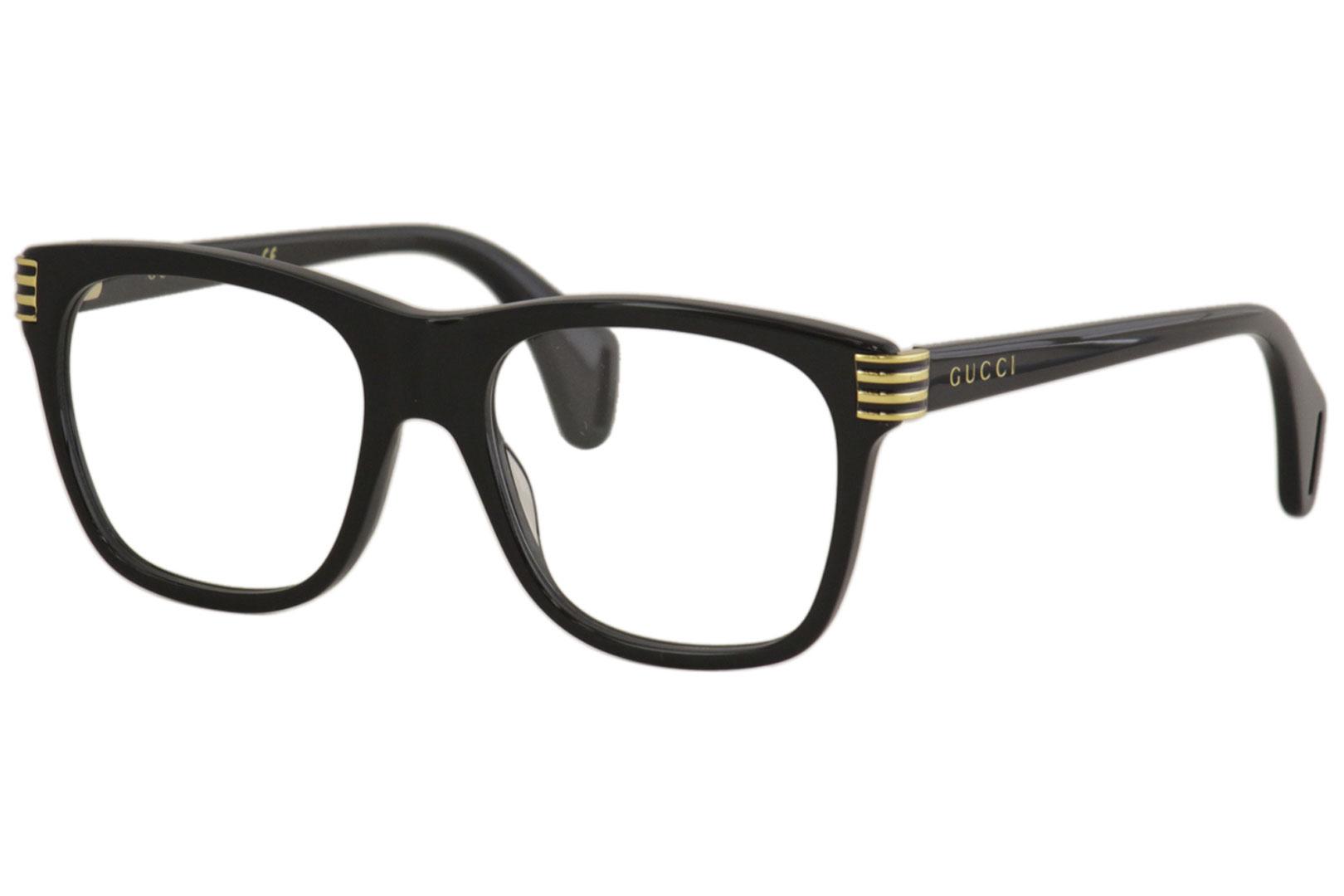 Gucci - Occhiale da Vista Uomo, Matte Black  GG0526O  001  C54