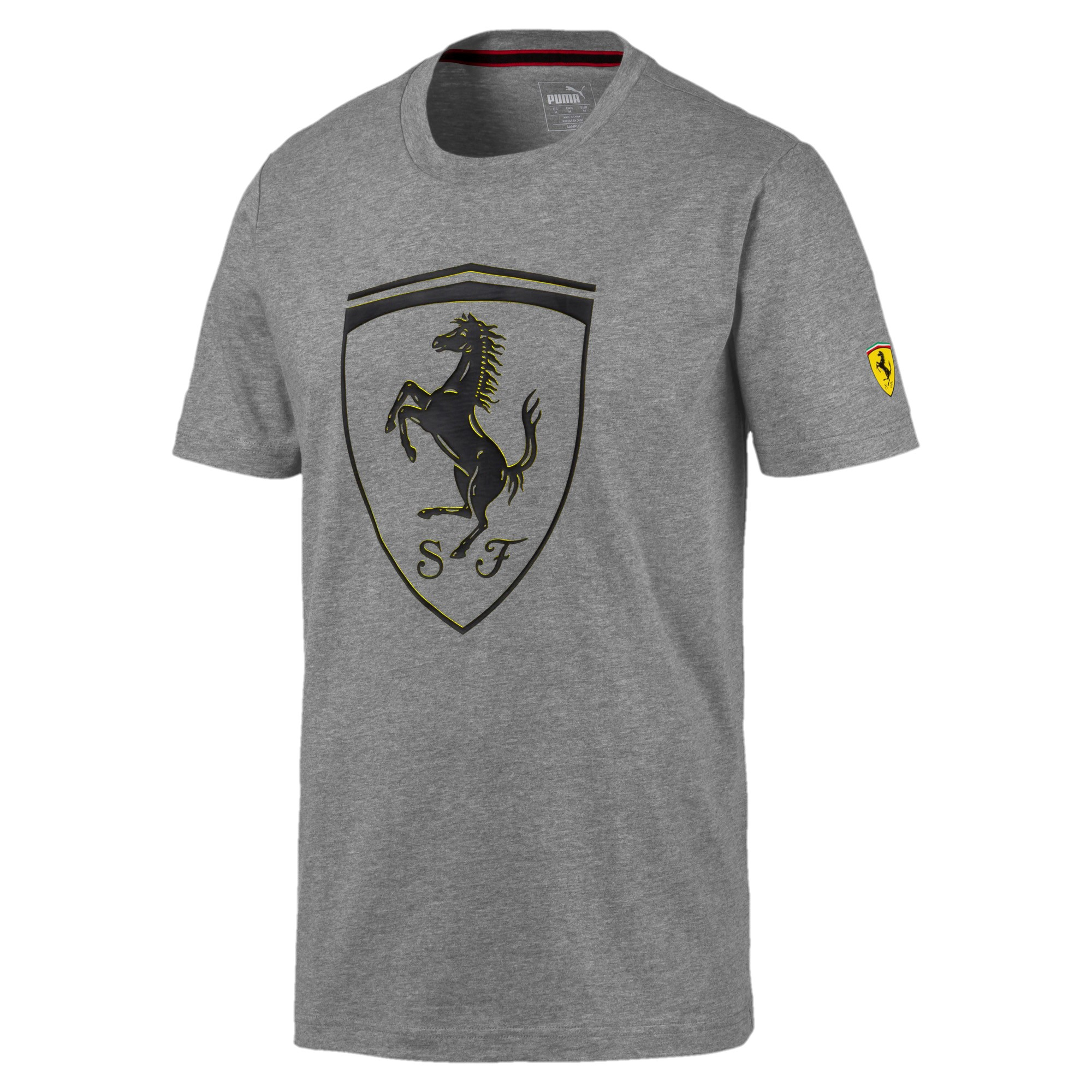 SF Big Shield Tee Medium Grey Heather