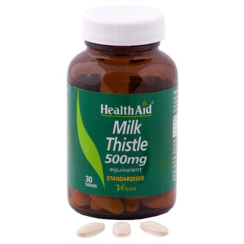 Cardo mariano | Milk-Thistle 500 mg   30 cpr