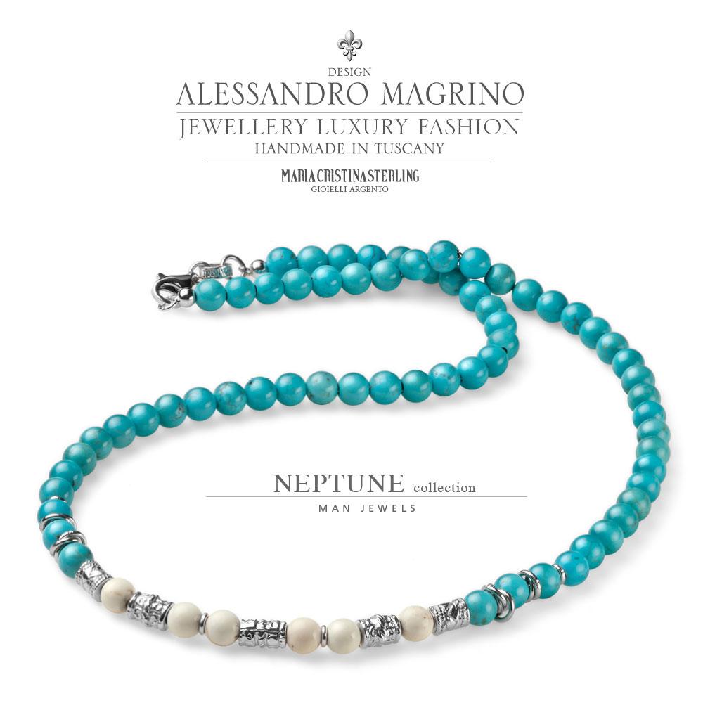 Collana Maria Cristina Sterling Collezione Neptune