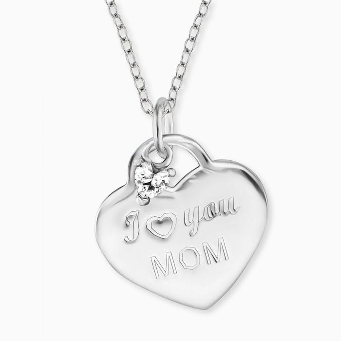 Collana Engelsrufer I Love You Mom