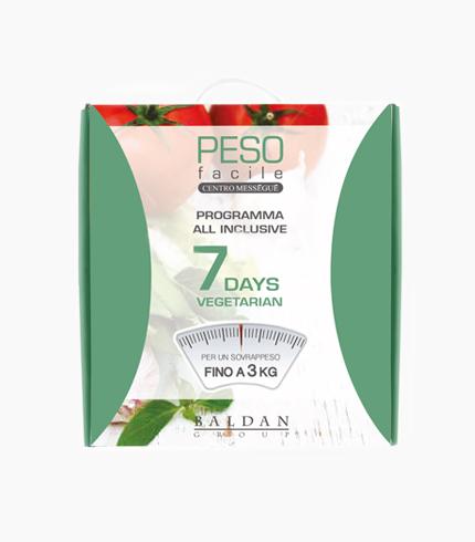 Kit 7 Days Vegetarian - PESO FACILE