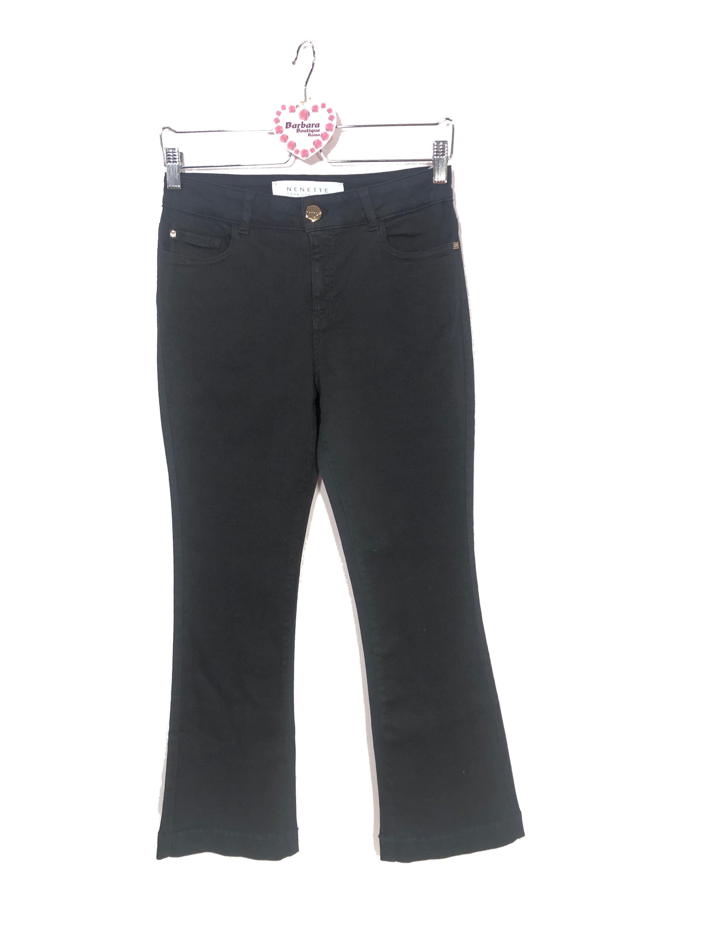 Jeans trombetta colorato