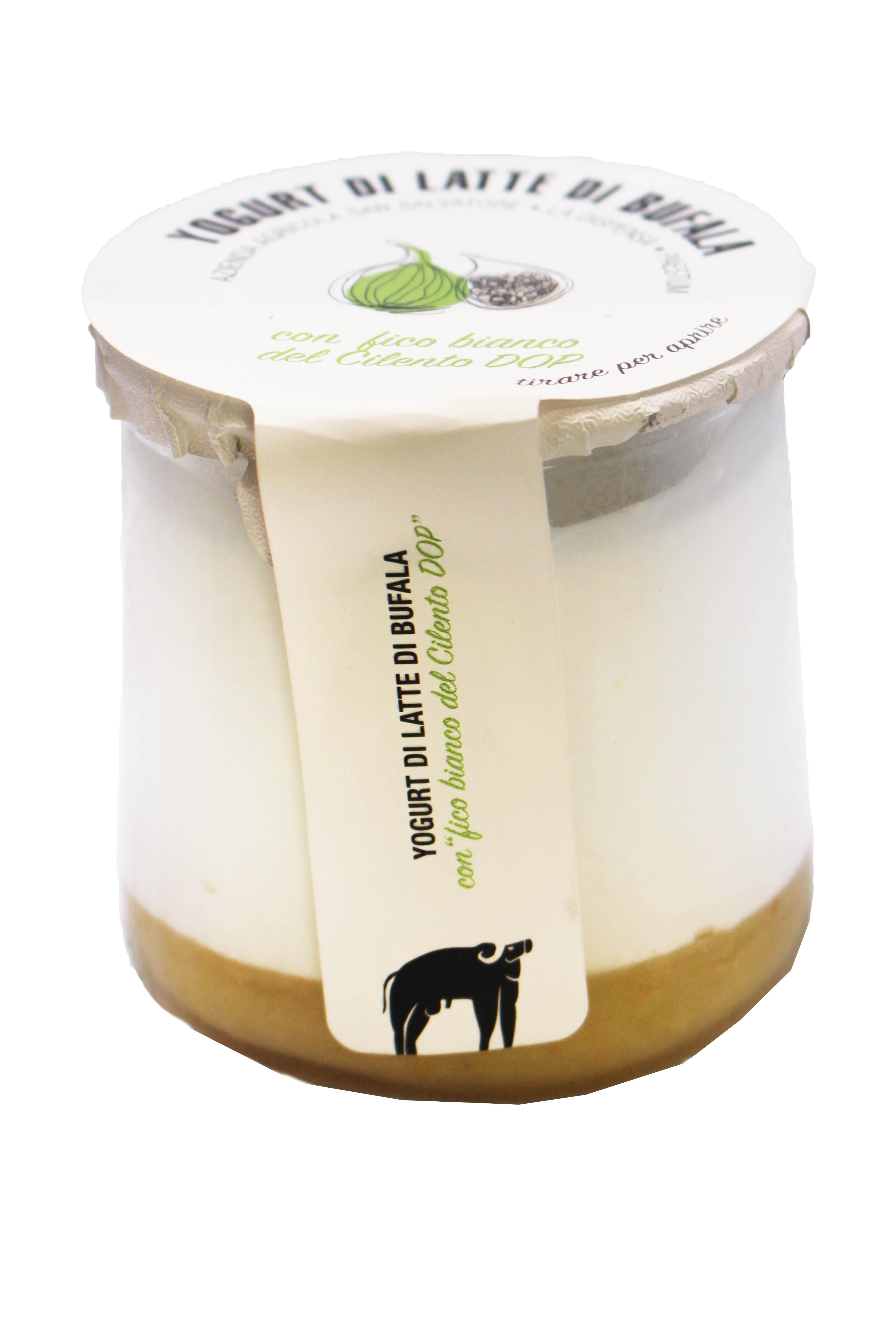 Yogurt di latte di bufala -  fico bianco del cilento DOP 150gr
