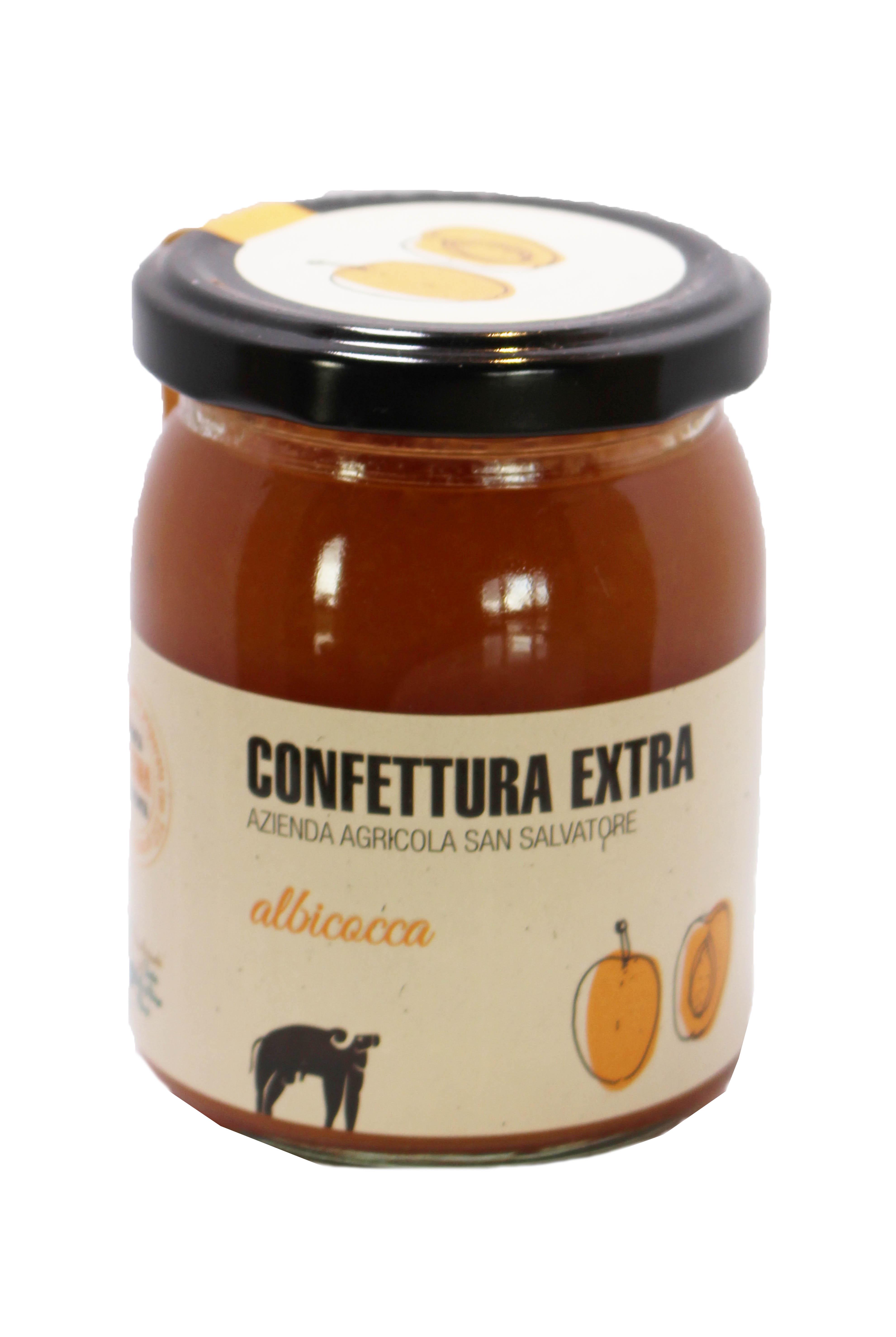 Confettura extra albicocca - 220 gr