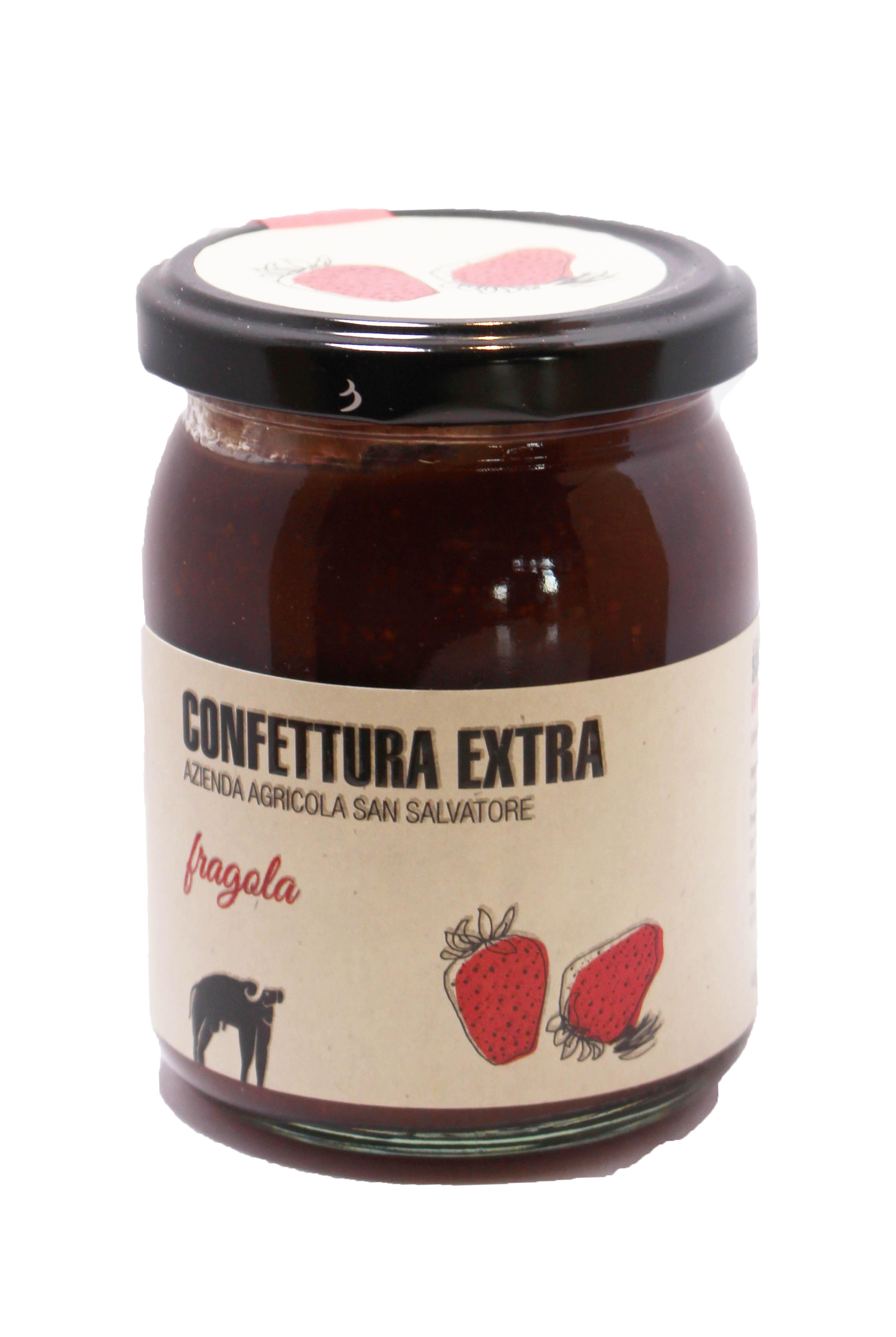 Confettura extra fragola - 220 gr