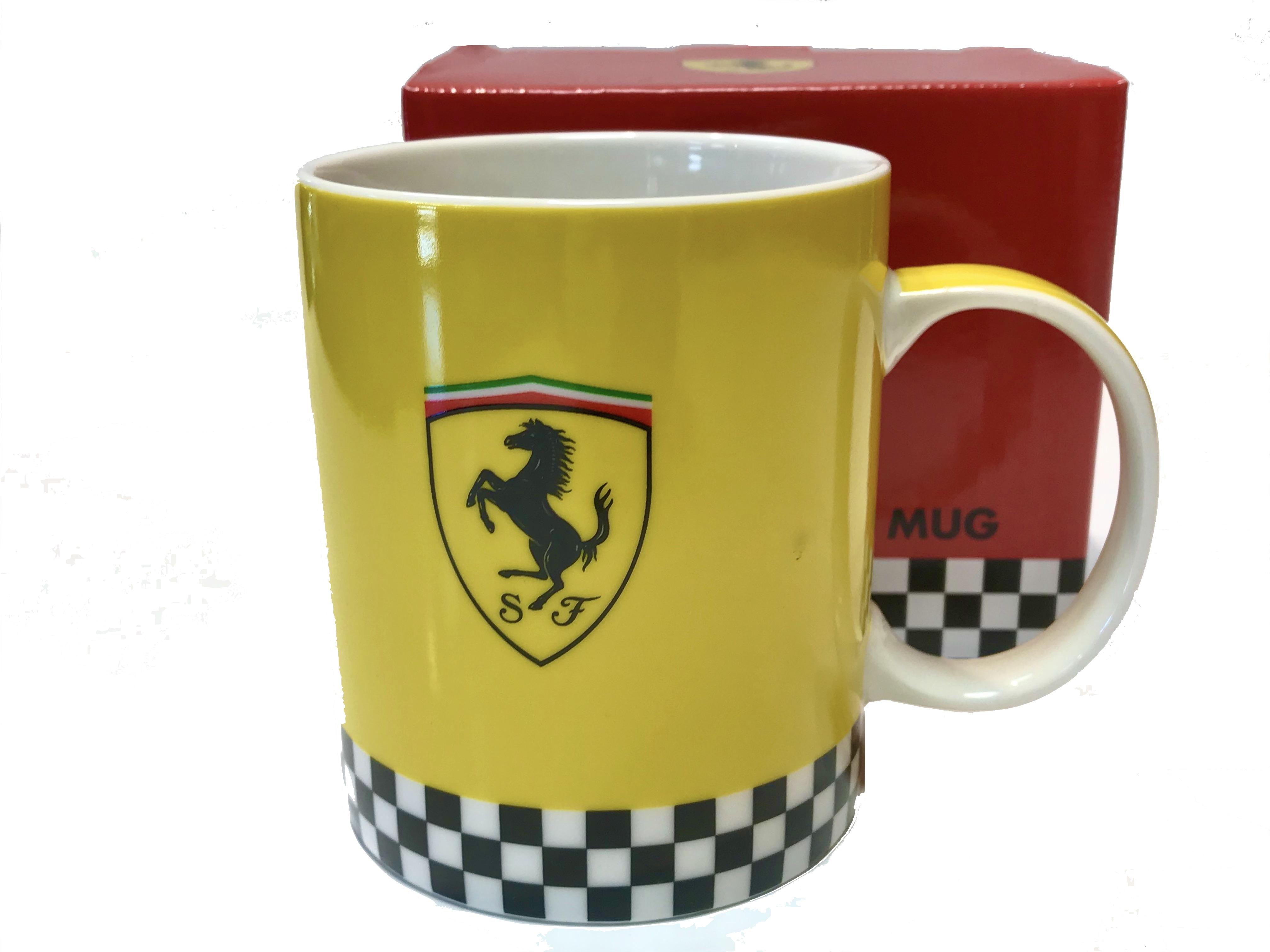Scuderia Ferrari Yellow Mug