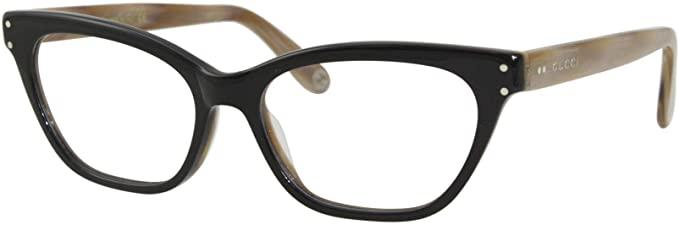 Gucci - Occhiale da Vista Donna, Black Brown GG0570O  007  C52