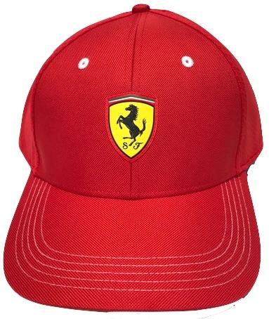 Ferrari Fanwear Baseball Cap Rosso Corsa