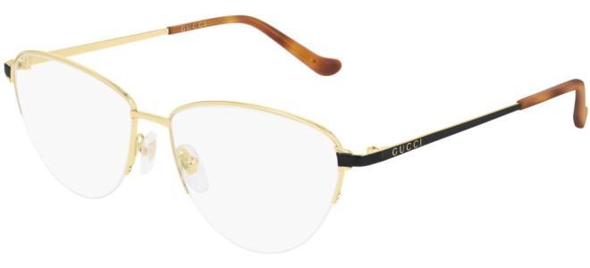 Gucci - Occhiale da Vista Donna, Gold Black GG0580O  001  C55