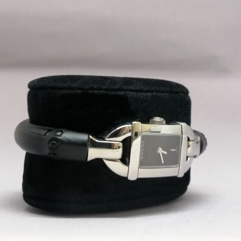 GUCCI BONE BRACELET BLACK