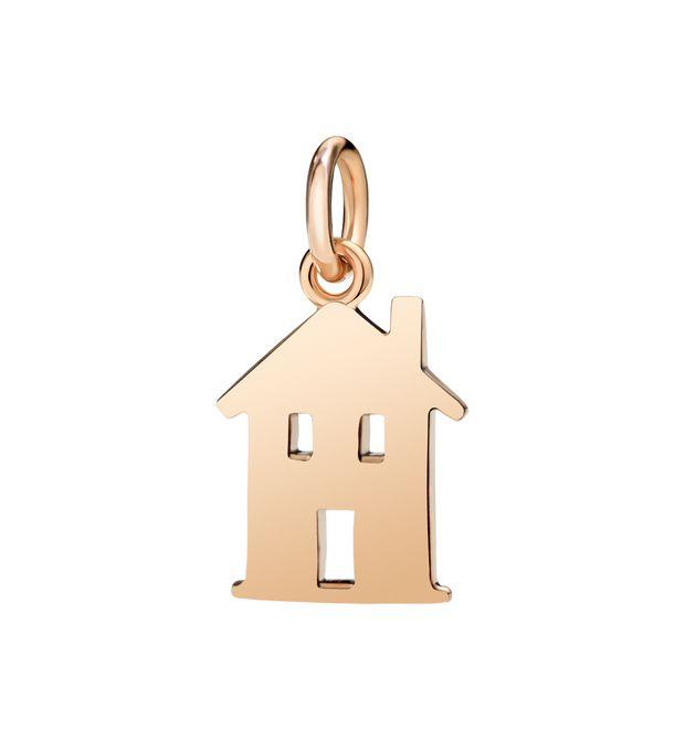 Ciondolo Casa Oro Rosa 9Ct