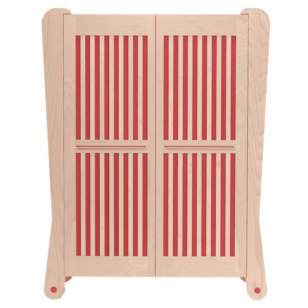Armadio rosso - Albero Bambino