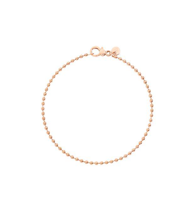 BRACCIALE BOLLICINE Oro rosa 9kt