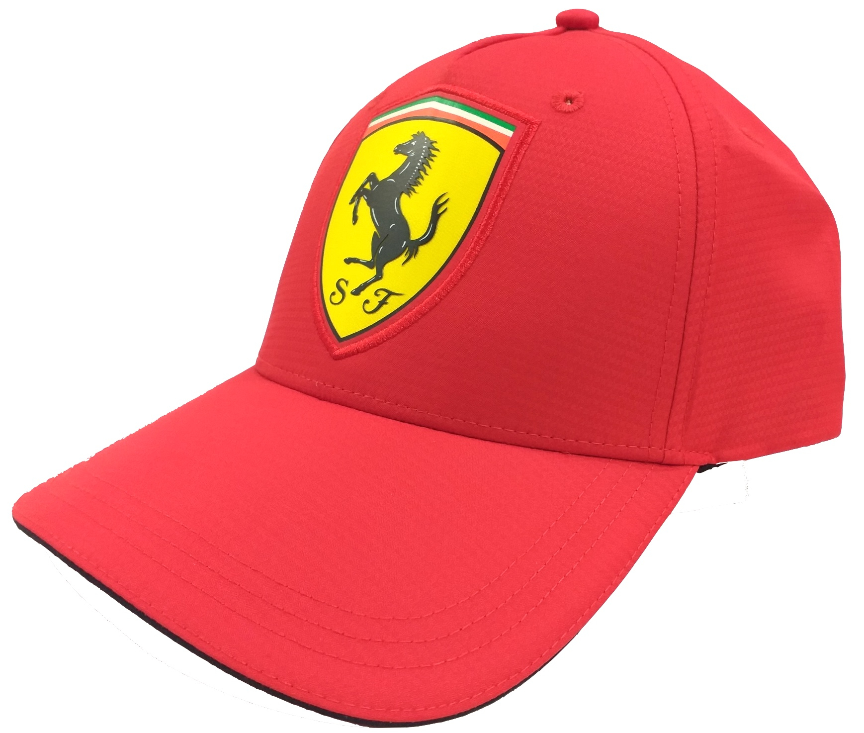 SF Scudetto Carbon Baseball Cap Red
