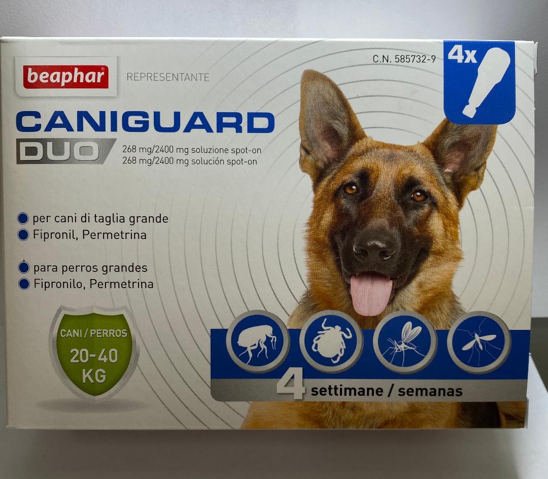 Caniguard duo, pipette per cani 20-40 kg. (beaphar)