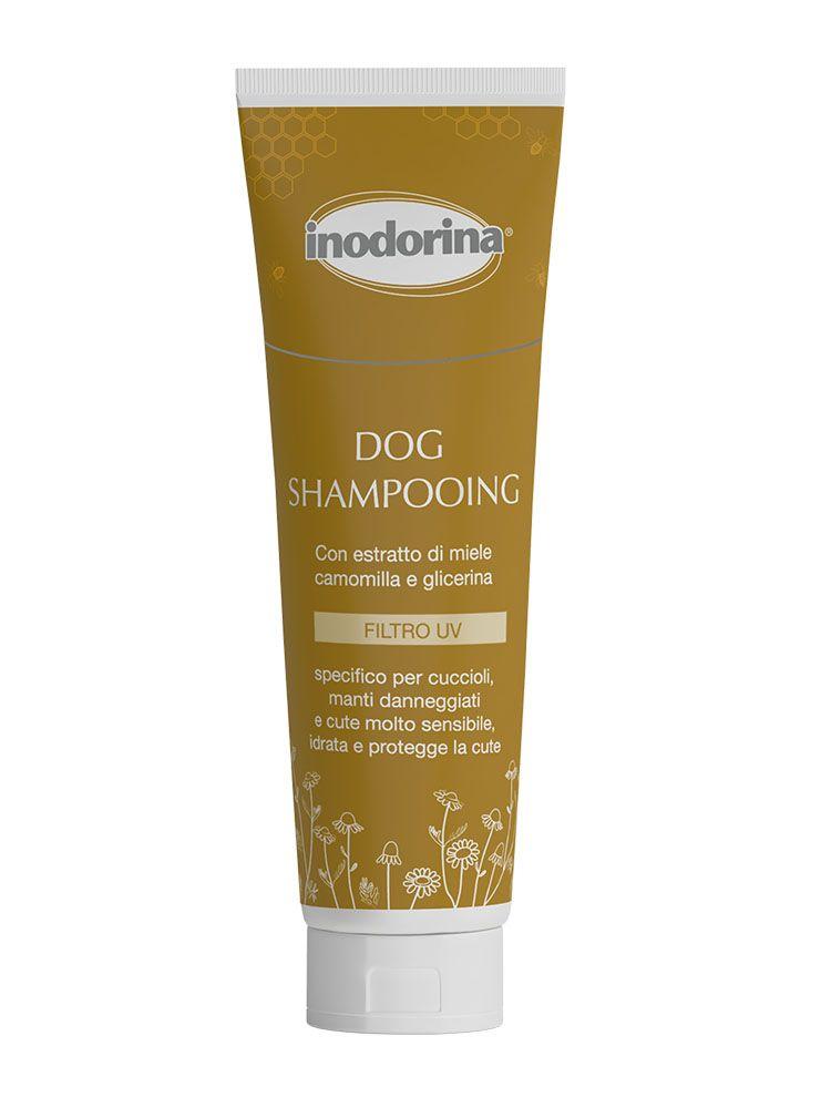 Inodorina Dog Shampooing - 250 ml - Cuccioli Manti Danneggiati e Cute Sensibile