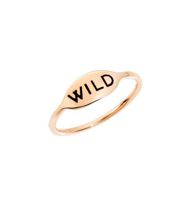 ANELLO WILD Oro rosa 9kt