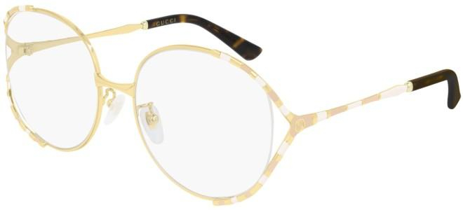 Gucci - Occhiale da Vista Donna, Gold Pink White  GG0596OA  002  C58