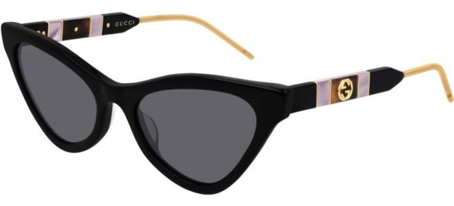 Gucci - Occhiale da Sole Donna, Black/Grey Shaded  GG0597S  001  C55
