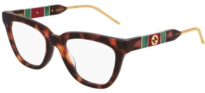 Gucci - Occhiale da Vista Donna, Dark Havana  GG0601O  002  C50