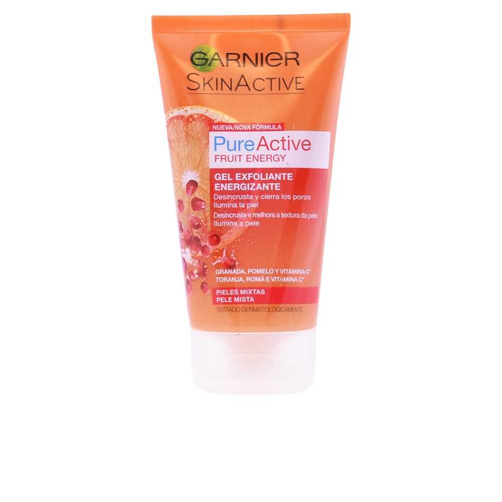 Garnier Skinactive Pure Active Energizing Scrub Gel Mixed Skin 150ml