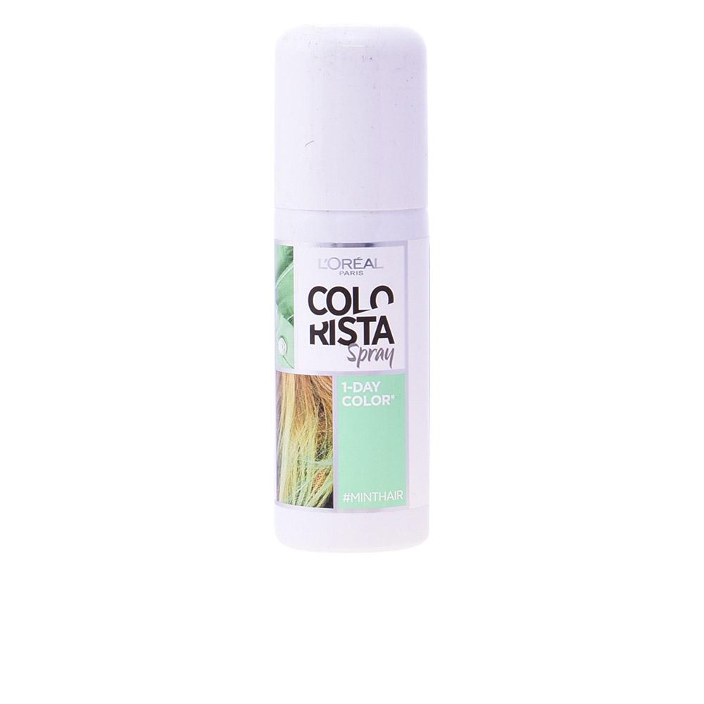 Loreal Colorista Colorazione Temporanea Spray 3 Mint 75ml